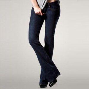 Gap 1969 Curvy Dark Wash Bootcut Jeans 31 12a